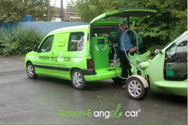 Mobile Ev Charger Cure For Range Anxiety Or Unnecessary