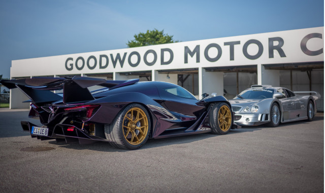 Apollo Intensa Emozione and Mercedes-Benz CLK-GTR