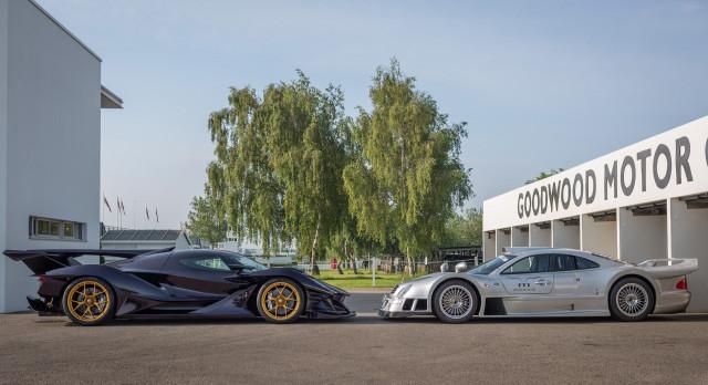Apollo Intensa Emozione and Mercedes-Benz CLK-GTR