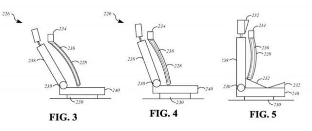Apple patent for haptic seats