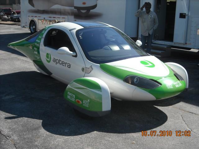 Aptera 2e production intent vehicle