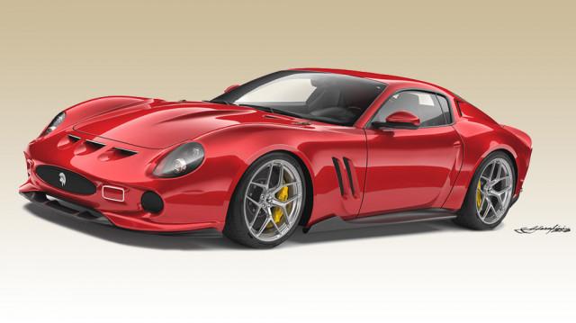 Ares' modern Ferrari 250 GTO based on the Ferrari 812 Superfast