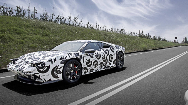 Ares Panther prototype testing in Modena, Italy