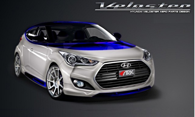 "ARK Veloster ""Alpine"" Concept for SEMA 2012"