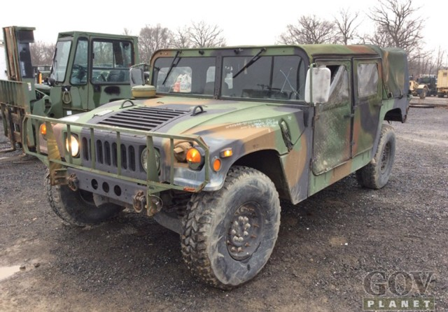 Humvee auction hammers home strong prices for Planet motors on military