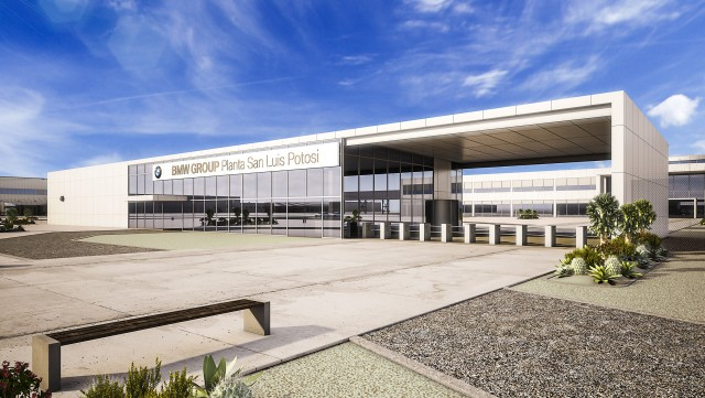 Artist's impression of the BMW plant in the Mexican state of San Luis Potosi