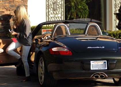 A Sit Down With Ashley Tisdale And Her Porsche Boxster S