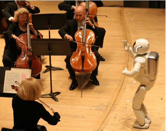 ASIMO Conducts DSO