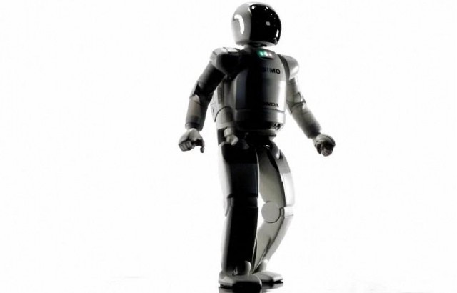 ASIMO robot by Honda, featured in 'Living With Robots'