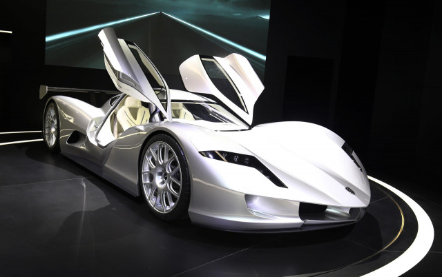 Watch this electric hypercar do 0-60 in less than 2 seconds
