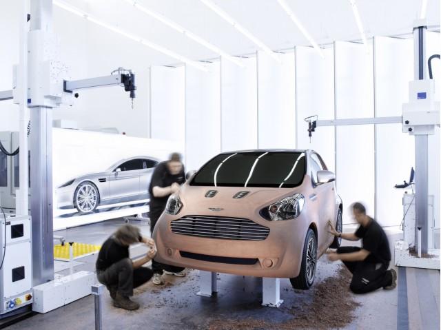 Aston Martin 'Cygnet', based on the Toyota iQ