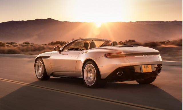 Alfresco V8 - Aston Martin DB11 Volante revealed