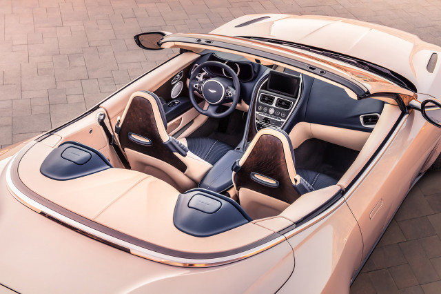Aston Martin DB11 Volante mixes V8 power with open-air thrills