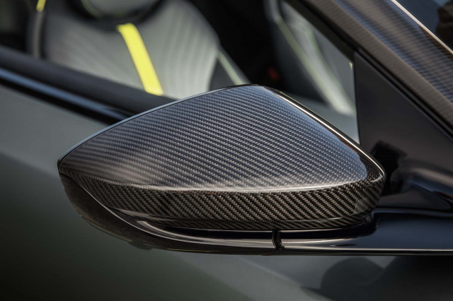 Aston Martin DB11 AMR gets more power and carbon fiber