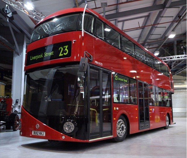 Aston Martin designed London Routemaster bus