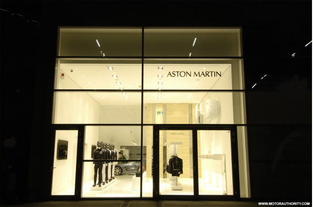 aston martin joins ferrari and nissan with n rburgring store. Black Bedroom Furniture Sets. Home Design Ideas
