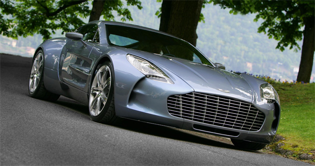 Production of the One-77 will start this year and run only through 2010 as only 77 cars will ever be built