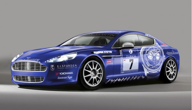 Aston Martin Rapide Nurburgring 24 Hours race car