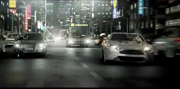 Aston Martin Reverie commercial
