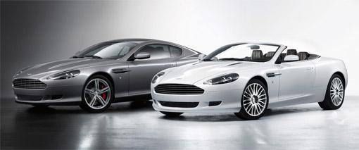 Aston Martin updates DB9 and Volante