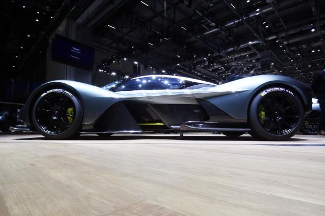 Aston Martin Valkyrie, 2017 Geneva auto show