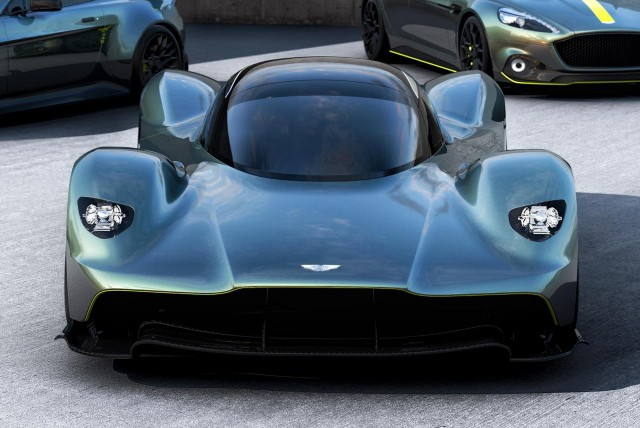 Will the Aston Martin Valkyrie better a 1:1 power-to ...