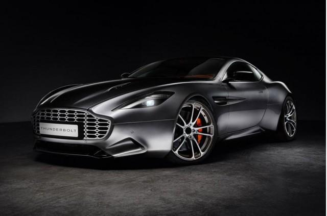 Aston Martin Vanquish-based 'Thunderbolt' from Henrik Fisker Design and Galpin Auto Sports