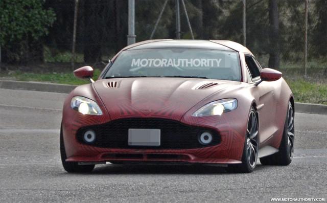 Aston Martin Vanquish Zagato Shooting Brake spy shots - Image via S. Baldauf/SB-Medien