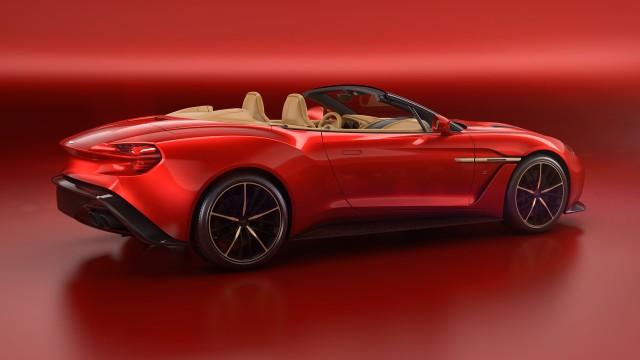 Aston Martin Vanquish Zagato Volante Spy Shots - 2018 aston martin vanquish convertible