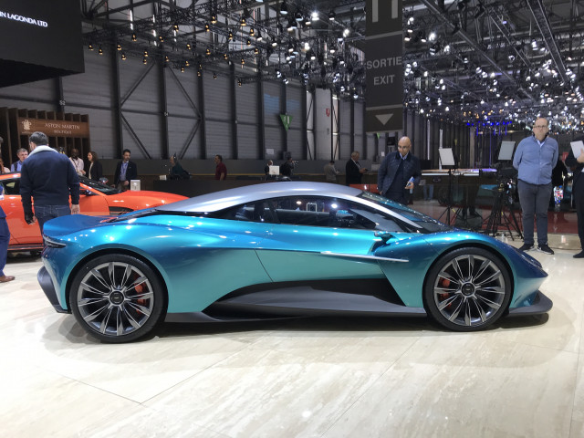 Aston Martin Vanquish Vision Concept Takes Nameplate To New Mid Engine Heights