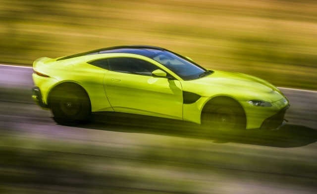 Aston Martin's new Vantage is entry-level luxury with the looks