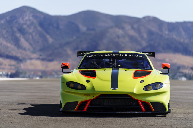 Marvelous Aston Martin Vantage GTE Race Car