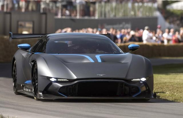 Aston Martin Vulcan, 2015 Goodwood Festival of Speed