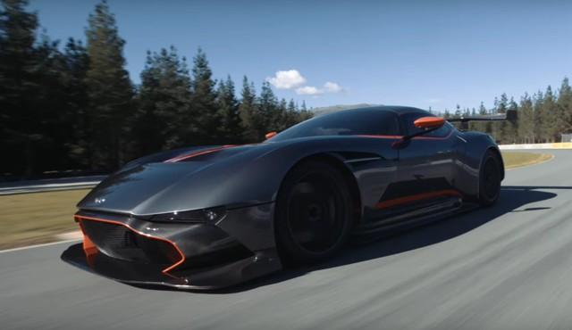 Aston Martin Vulcan in New Zealand