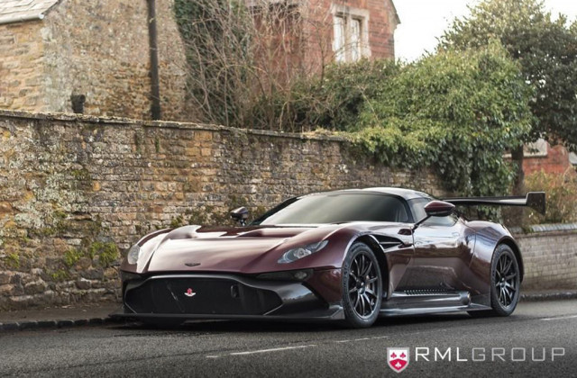 Aston Martin Vulcan road car conversion