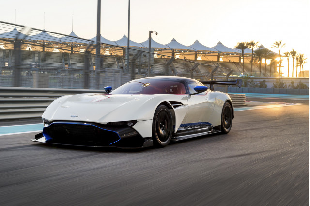 The Aston Martin Vulcan Is Going Racing Sort Of