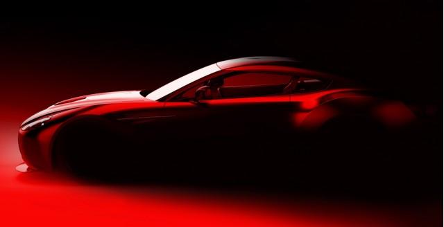 Aston Martin and Zagato tease new coachbuilt race car