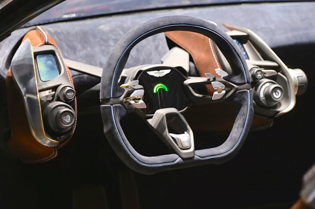 All Electric Aston Martin Dbx Crossover Concept Geneva