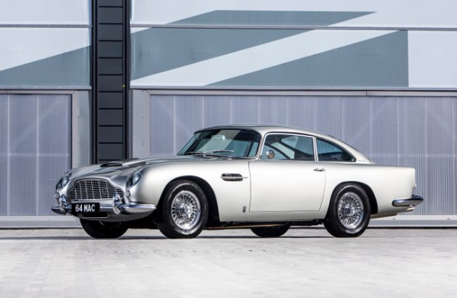 Paul McCartneys DB Tops Bonhams Celebrity Sales Celebration - Aston martin db5 1964 price