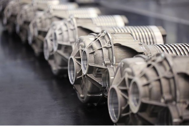 Atieva electric powertrain components