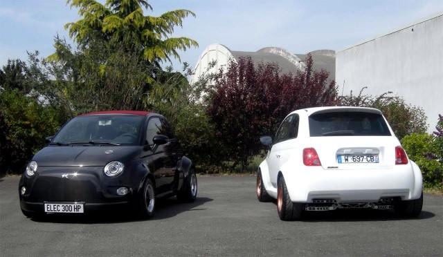 Atomik Fiat Abarth 500 Electric