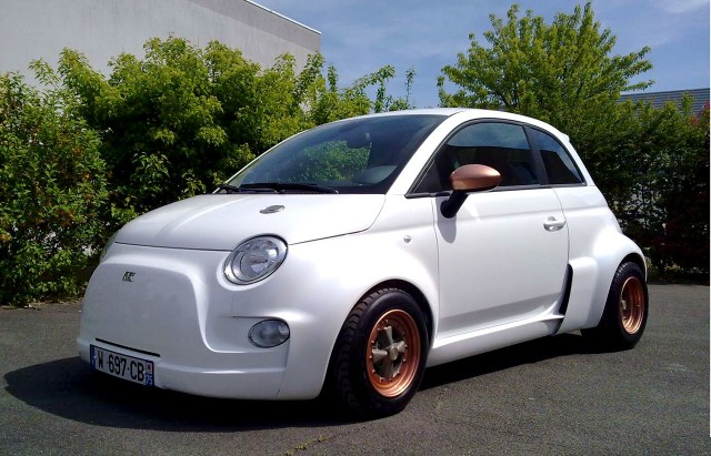 Atomik Fiat Abarth 500 Electric
