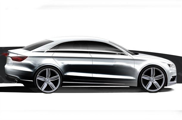 2013 Audi A3 leaked official sketches
