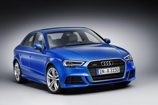 2017 Audi A3 (European spec)