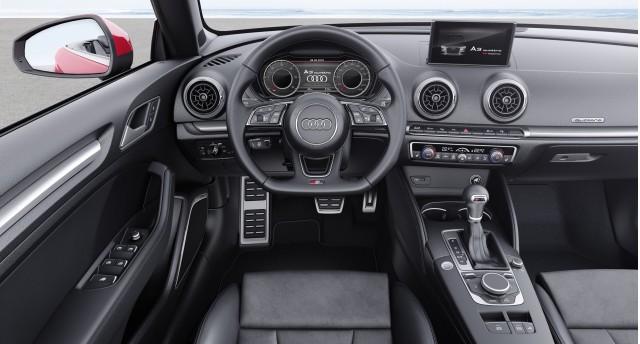 2017 Audi A3 Cabriolet (European spec)