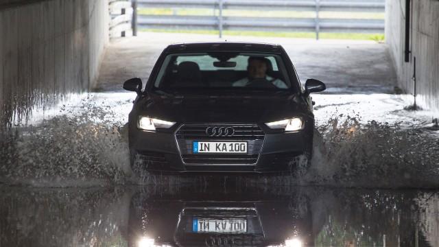 Audi's 100th INKA test