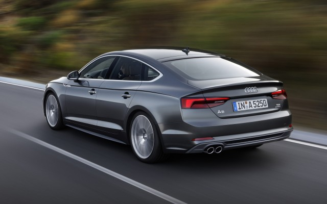 2018 Audi A5 Sportback Revealed Ahead Of 2016 Paris Auto Show