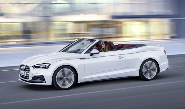 2018 Audi A5 Cabriolet Revealed Ahead