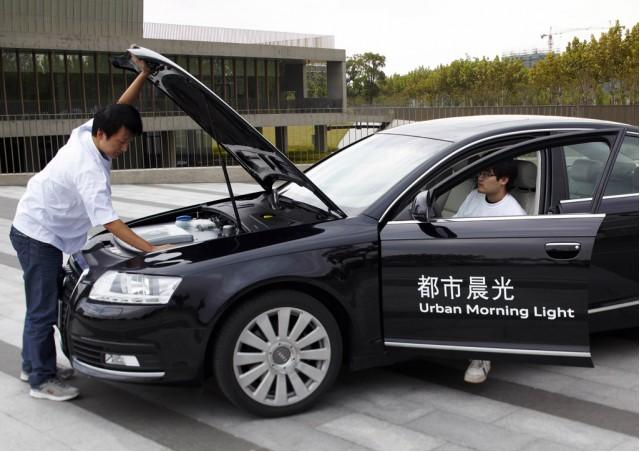Audi A6L electric vehicle prototype