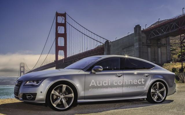 Audi A7 autonomous car prototype